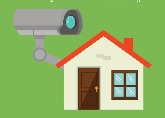 Ten Tips for Home Security