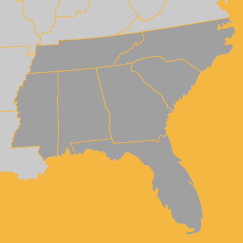 trucking_insurance_southeast-map